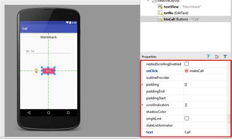 cara membuat aplikasi sederhana android studio android studio cara membuat aplikasi calling sederhana