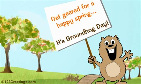 groundhog day vs happy day groundhog day happy wish free groundhog day ecards