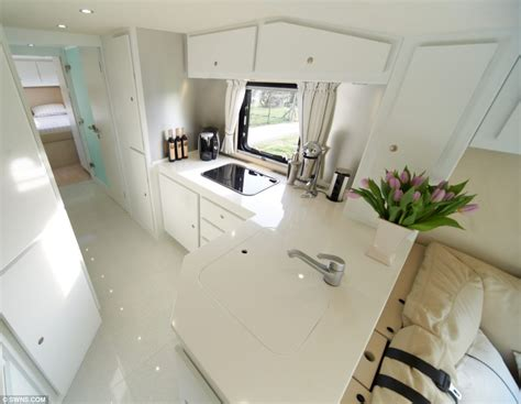 Mail Order Kitchen Cabinets the 163 1 2million motorhome with a state of the art kitchen