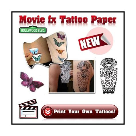 tattoo printer transfer paper design your own transfer tattoo paper