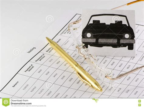 leasing a car in europe long term leasing the car long term stock photo image of color