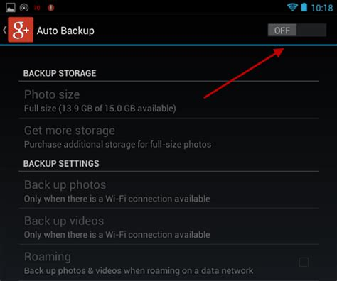 Auto Backup Google Photos by How To Disable The Google Auto Backup On Ios And Android