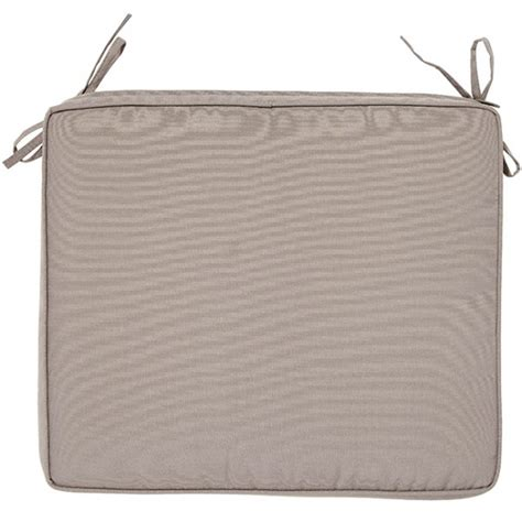 Galette Chaise Jardin by Galette Chaise De Jardin Rectangulaire Taupe Coussin