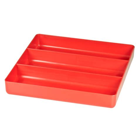drawer organizer trays 5020 three compartment organizer tray red 5020