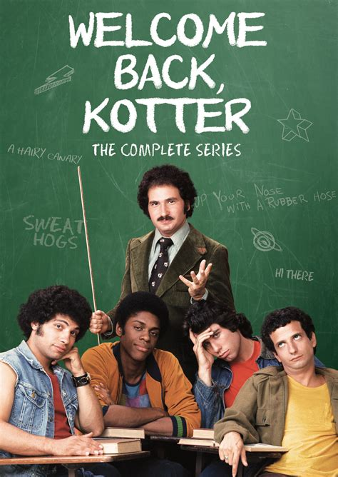 welcome back kotter cast welcome back kotter the complete series shout factory