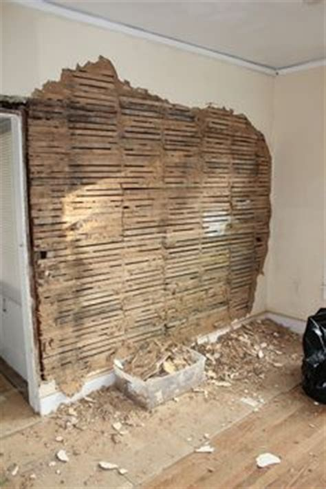 step by step how to remove repair lath and plaster ceiling how to remove plaster from a brick chimney exposed brick