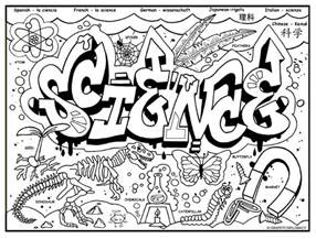 science coloring pages graffiti diplomacy store