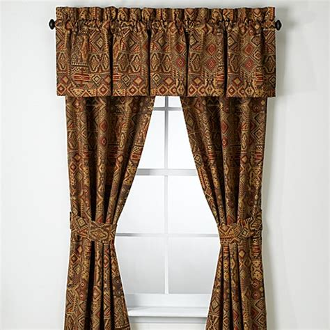 croscill drapes discontinued croscill 174 yosemite window panel pair with tiebacks bed