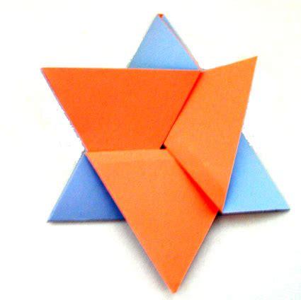 Origami Message - message plie en origami sur tete a modeler junior