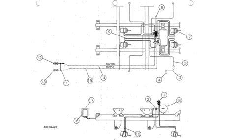 air brake parts diagram air brake