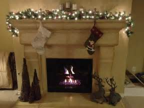 christmas fireplace from house to home