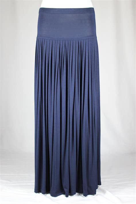 navy blue pleated skirt redskirtz