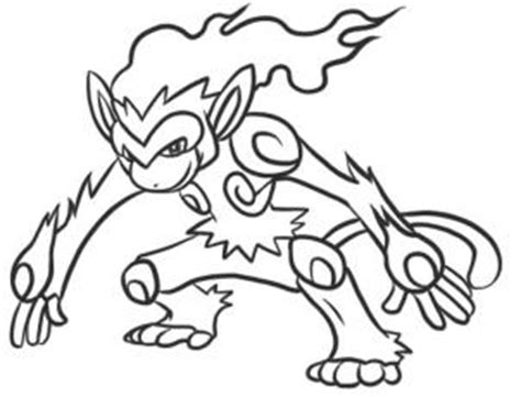 pokemon coloring pages infernape how to draw infernape step by step pokemon characters