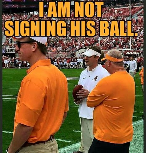 Tennessee Football Memes - payton manning lane kiffin sec pinterest