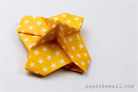 Origami Name Card - origami card holder paper kawaii