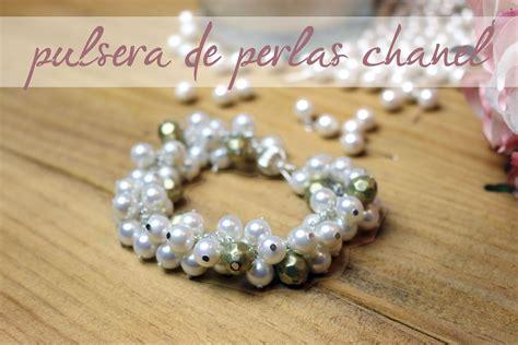 Como Hacer Pulseras Con Perlas | diy pulsera de perlas chanel youtube