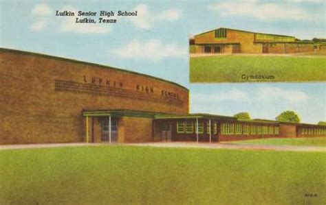 lufkin texas history attractions historic postcards