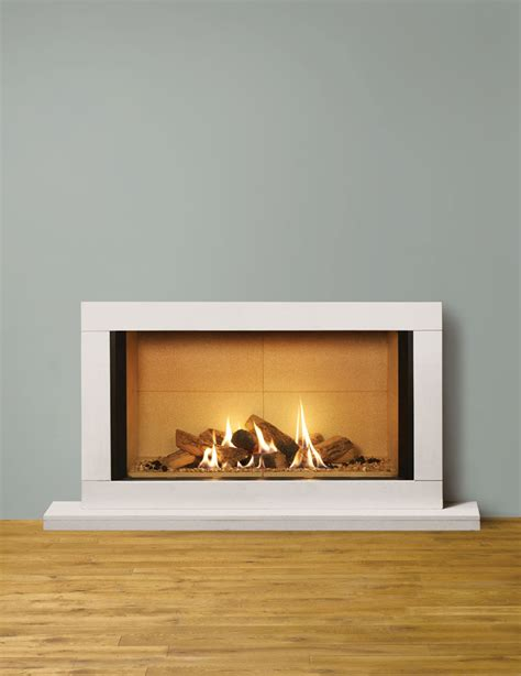 Vermiculite Fireplace by Riva2 1050 Sorrento Gas Fires