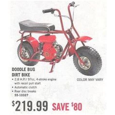 doodlebug mini bike walmart doodle bug dirt bike at tractor supply black friday 2008