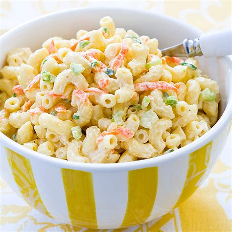 macaroni salad hawaiian macaroni salad cook s country