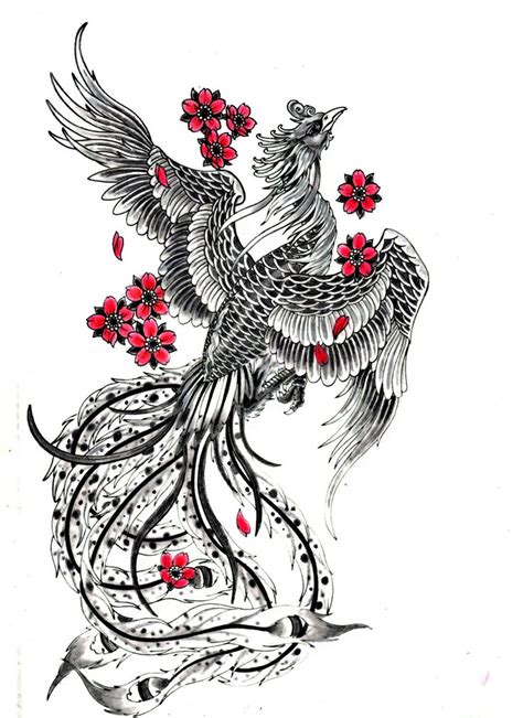 japanese phoenix tattoo best 25 japanese ideas on