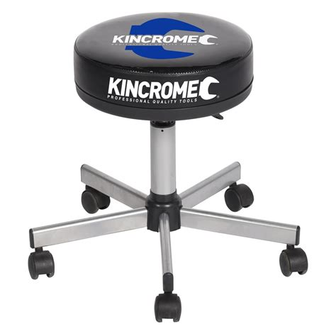 gas lift stool on wheels gas lift workshop stool kincrome australia pty ltd
