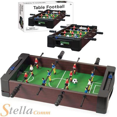 table top football tabletop 16 quot mini table top football foosball soccer