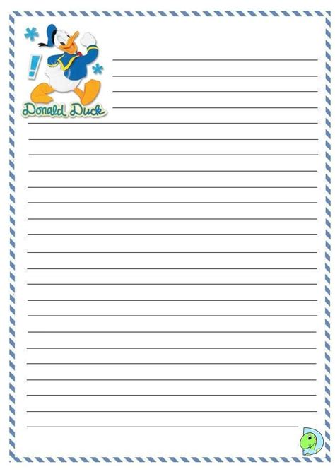 printable disney writing paper 181 best images about donald daisy duck printables on