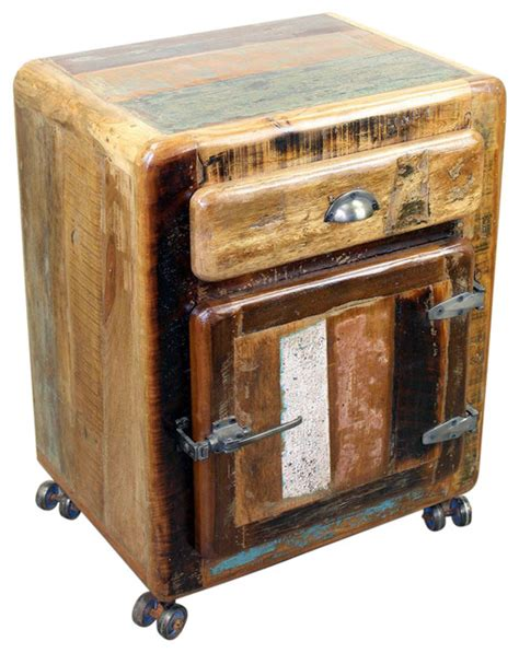 bedside table on wheels wooden nightstand on wheels eclectic nightstands and