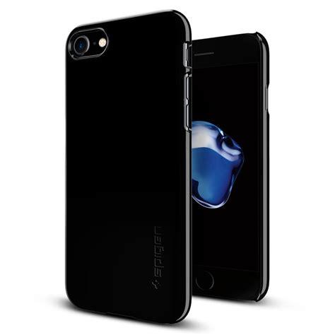 iphone jet black spigen thin fit iphone 7 primegad