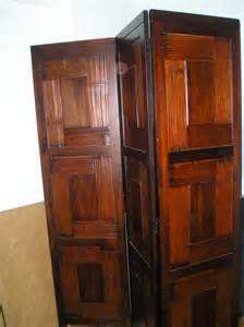 Rustic Room Divider Furniture Appealing Solid Wood Room Divider Design Founded Project
