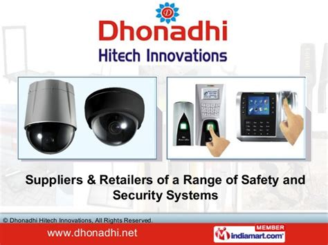 electronic security systems by dhonadhi hitech innovations