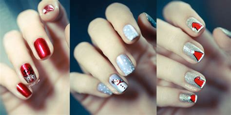 christmas nail art tutorial easy 13 christmas nail art tutorials you need in your festive life