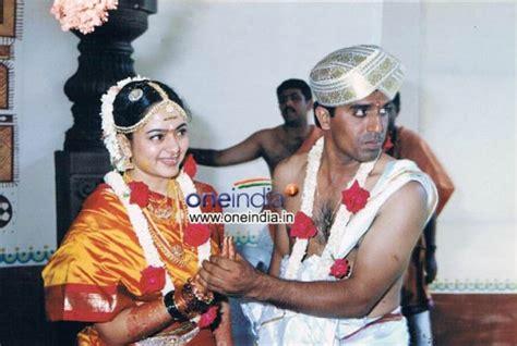 kannada heroine family photos kannada actress soundarya and g s raghu wedding photos