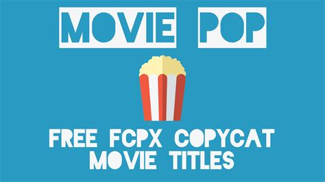 fcpx title templates free copycat fcp x title templates of blockbuster