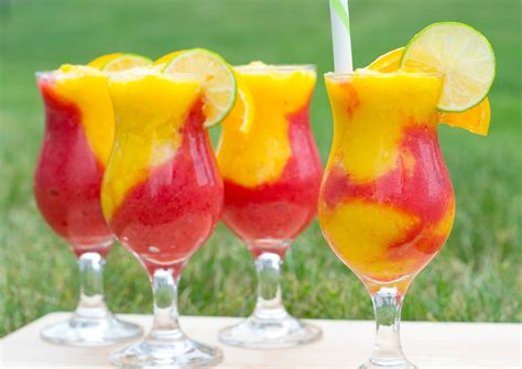 daiquiri cocktail say hello to summer with this sensational strawberry mango