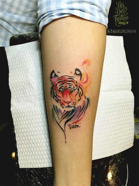 50 Really Amazing Tiger Tattoos For Men And Women Small Tiger Tattoos For