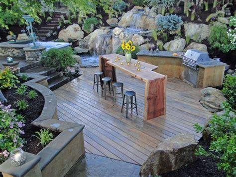 backyard grill bar plan de travail ext 233 rieur pour une cuisine d 233 t 233 pratique