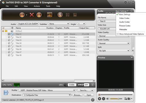 format converter v3 1 free download program imtoo 3gp video converter v3 1 1