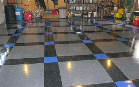vinyl floor garage cheap garage flooring options all garage floors