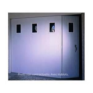 portes de garage coulissantes pvc bric mat