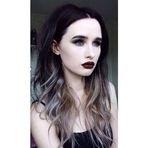 silver starlets dark brown hairs 17 best images about cabello on pinterest silver ombre