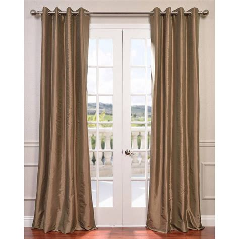 gold taffeta curtains exclusive fabrics furnishings gold nugget grommet