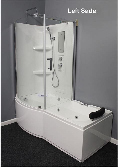 whirlpool bathtub shower shower room with deluxe whirlpool tub 9045l best for bath