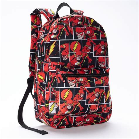 Boys Comforter Dc Comics Flash Comic Backpack Red From Kohl S