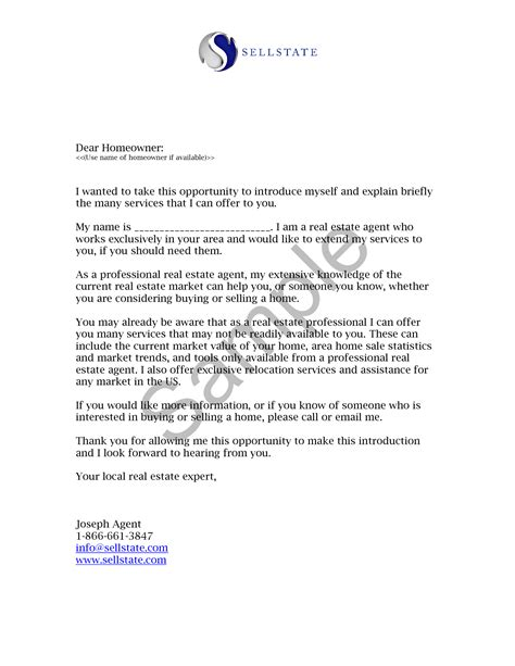 commercial real estate cover letter stunning commercial real estate