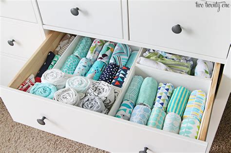 Baby In Drawer by Baby Organization Tips