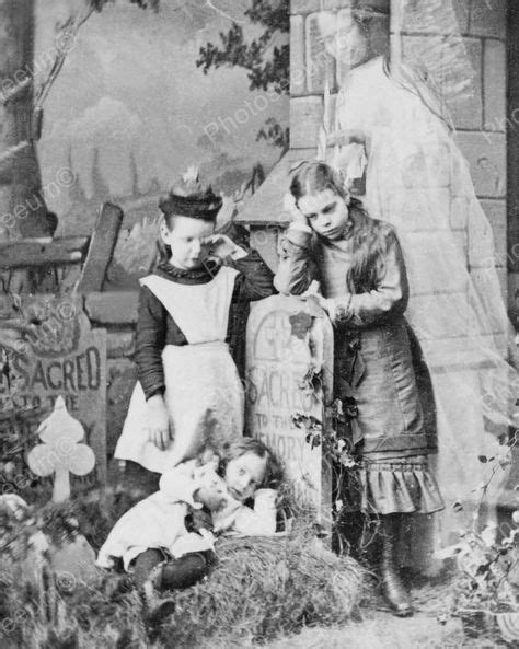 han dislande classic reprint children mourn loss of mother ghost appears 1889 8x10 reprint of old photo inspiration