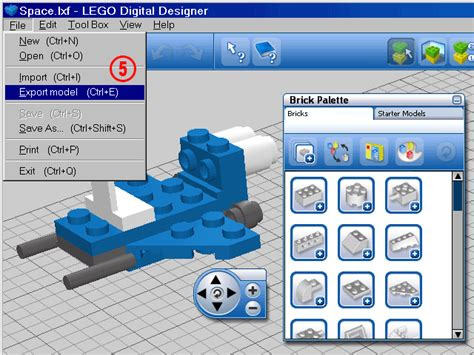 tutorial lego digital designer file tutorial ldd conversion5 gif ldraw org wiki