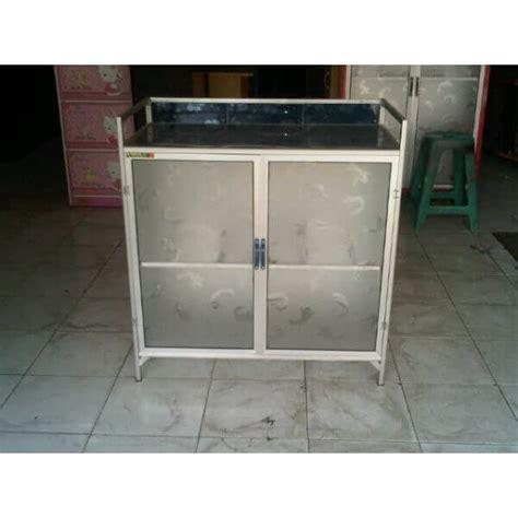 Rak Kompor Gas Aluminium rak kompor aluminium 2 pintu